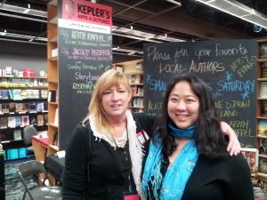 Kristin Elizabeth Clark & Emily Jiang at Kepler's