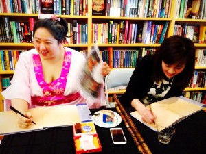 BookParty-Borderlands-Signing-Megan